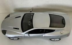 Kyosho Aston Martin Limited Banquish Model Car 1/12 Scale Silver With Box Used
