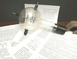 Valve [ Teltron ] Triode { Planar Triode } Tested And Working { Instructions } Box