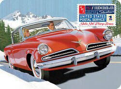 Amt Models 1/25 Scale 1953 Studebaker Starliner - Usps With Collectible Tin