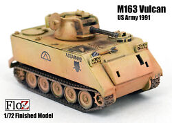 Us Army M163 Vulcan Air Defense System 1991 Floz 1/72 Finished Tank Model
