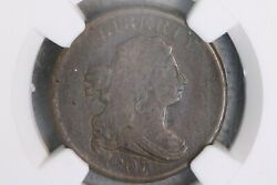 1807 1/2c Draped Bust Half Cent Ngc Vf25 Bn Very Fine Vf Early Us Copper Type