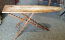 Antique Vintage Wooden Ironing Board ♡ 47 Long ♡ Pick Up Only