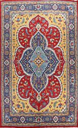 Floral Oriental Area Rug Hand-knotted Traditional Wool Vegetable Dye 10x14 Ft.