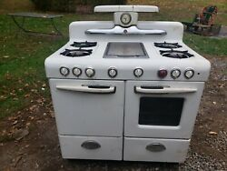 Vintage 1940s/50s Magic Chef Gas Oven With Griddle Built In