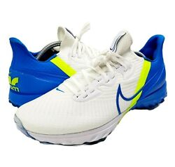 Nike Air Zoom Infinity Tour Menand039s 10.5 Golf Shoes White Baseball Blue Ct0540-102