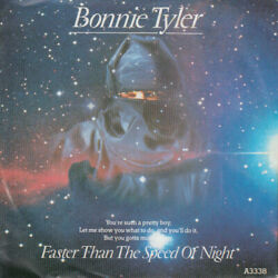 Bonnie Tyler Faster Than The Speed Of Night Vinyl 7 Id11757z