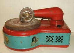 1930's Lindstrom Child's Electric Toy Phonograph