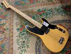 New 2020 Fender Made In Jp Traditional Original 50s Precision Bass With Case