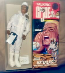 1996 Gi Joe Limited Edition Convention Talking Astronaut African American 459