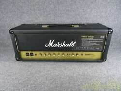 Used Marshall Head Amp 2466 Vintage Modern W/cover And Foot Switch And Power Cable