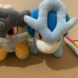 Used Pocket Monsters Plush Doll Entei And Suicune And Raikou Legendary Pokemon