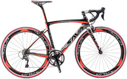Carbon Road Bike 2020 Version 700c Carbon Fiber Frame Racing Bicycle With Shima