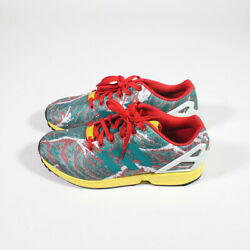 Adidas Torsion Zx Flux Weave Eqt S16 - Green/ Yellow/ Red - Us 10.5 - S79078