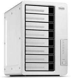 Terramaster F8 422 10Gbe Nas 8 Bay Network Storage Server Quad Core Cpu With Ha