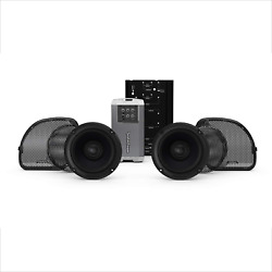 Rockford Fosgate Hd14rgsg-stage2 Two Speakers Amplifier Kit For 2014+ Harley-d