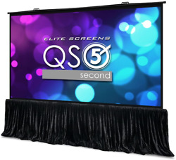 Elite Screens Quickstand 5-second Series, 180-inch 169, Manual Pull Up Projecto