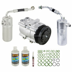 For Ford F-150 1997 1998 Oem Ac Compressor W/ A/c Repair Kit Gap