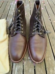 Alden Dearborn Two Tone Leather And Suede Boots - D6818 Size 10d