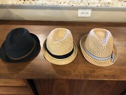 New without Tag Kids Fedora Hat lot. Brands: One Apt9 Nordstrom and unbranded $39.00