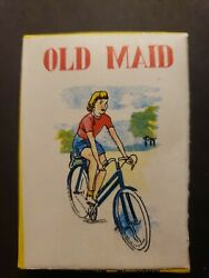 Vintage Old Maid Playing Cards Made In Hong Kong New Old Store Stock 242