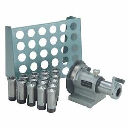 Ttc 5c-wxcr 15 Pc 5c Collet Set W/spin Index Fixture And Collet Rack Package
