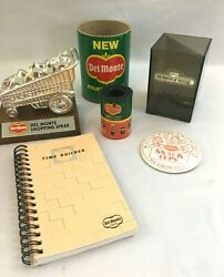 Vintage Del Monte Executive Advertising Premiums Trophy/award And More