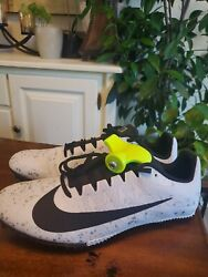 Nike Zoom Rival Size 8 Menand039s Track Sprint Spikes 907564-005 Tool+spikes 7 -11.5