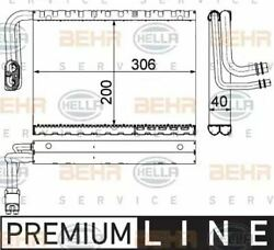 Evaporator Air Conditioning 8fv351330-701 / Ae 92 000p By Behr - Single