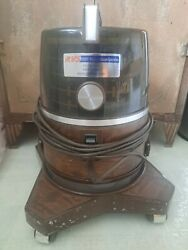 Vintage Rainbow Vacuum Cleaner D3c W Water Pan...does Run, As Is, For Parts