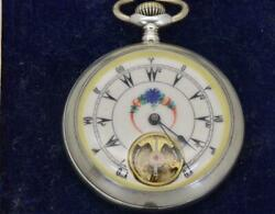 Wow One Of A Kind Antique 8 Days Prototype Ottoman Silver Watch C1890and039a