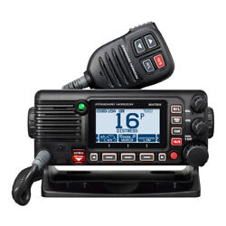 Standard Horizon Gx2400b Matrix Black Vhf W/ais Integrated Gps Nmea 2000 30w