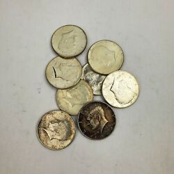 1 Face Value 90 Silver Us Coins 2 1964 Kennedy Half Dollars