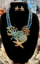 Heidi Daus Coastal Collective Necklace And Earrings