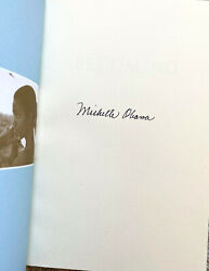 First Lady Michelle Obama Signed 1st Ed. Becoming Hardcover Book W/ Vip Mandg Pass