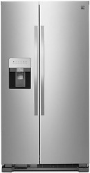 Kenmore 50043 25 Cu. Ft. Side-by-side Refrigerator With Water And Ice Dispenser