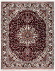 The Rug Truck - Persian Treasures Shah Red Area Rug 9and039 X 12and039 | Turkish Area Ru