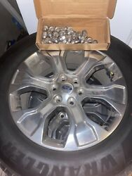 🔥 2021 Ford F150 Platinum Wheels Oem 20 Inch Wheels And Tire Package 6x135🔥