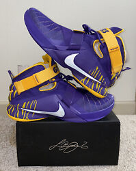 Nike Lebron 9 Ix High Solider Lsu Promo Sample 15 Geaux Tigers Lakers 1 3 11 18
