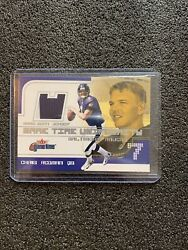 Chris Redmon Fleer Game Tome 2001 W/ Game Worn Jersey Patch 2 Color