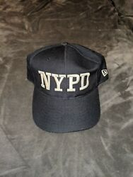 2001 Nypd New York Mets Yankees New Era Hat Cap Fitted 7 1/4 Post 9/11 Vintage