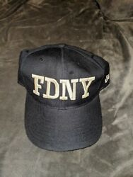 2001 Fdny New York Mets Yankees New Era Hat Cap Fitted 7 1/4 Post 9/11 Vintage