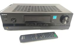Sony Str-dh100 4-channel Home Stereo Receiver 5 Input Original Remote Bundle
