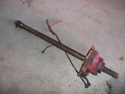 Farmall M Ih Tractor Pto Power Take Off Shaft W/ Engagement Lever