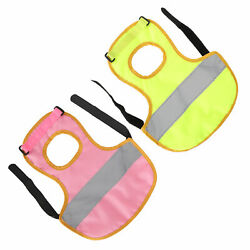 Chicken Saddles Hen Reflective Apron Poultry Chicken Vest Clothes Back Protector
