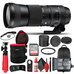 Sigma 150-600mm F/5-6.3 Dg Os Hsm Contemporary Lens For Canon Ef 745-101