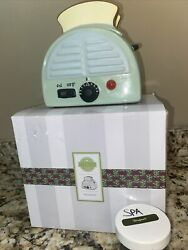 scentsy warmer full size retired Morning Toast with free wax