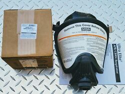 Msa Ultra-elite Premium Cbrn Gas Mask With 40mm Cbrn Approved Filter Exp 12/2025