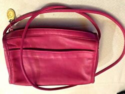 Charter Club Purse Womans Crossbody Shoulder Bag Small Pink FREE SHIPPING $11.99