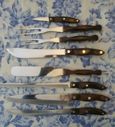 Factory Refurbished Cutco Kitchen And Carving Set 8 Knives 20 22 23 24 25 26 27 28