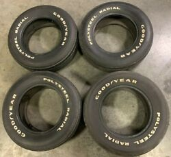 Vintage Goodyear Polysteel Radial Tires 225/70/r15 - Set Of 4